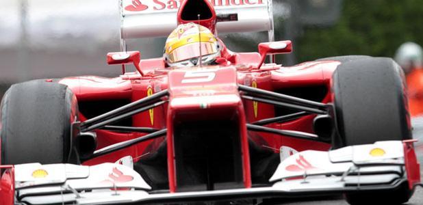 Fernado Alonso Formula 1 Car