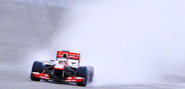Jenson Button at Silverstone 2013