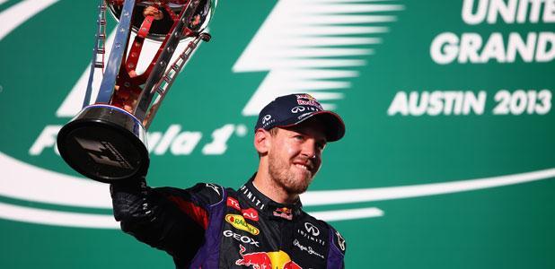 Sebastian Vettel US GP 2013